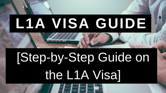 L1A Visa Guide - Step-by-Step Guide on the L1A Visa