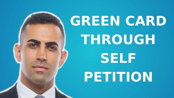 Green Card Through Self Petition