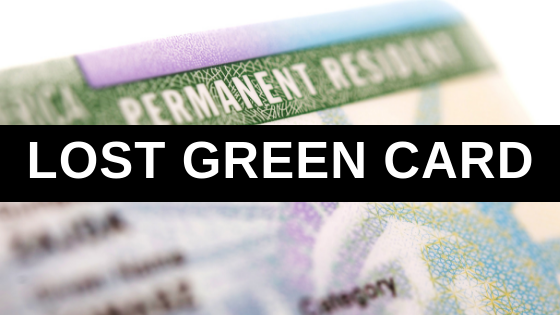 Lost Green Card
