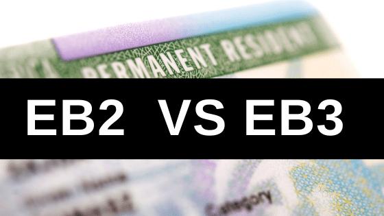 EB2 vs EB3