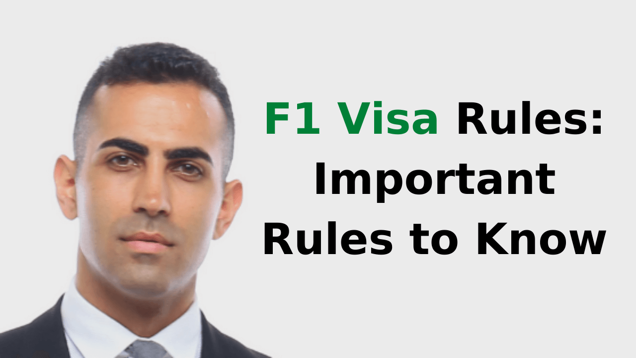 F1 Visa Rules_ Important Rules to Know