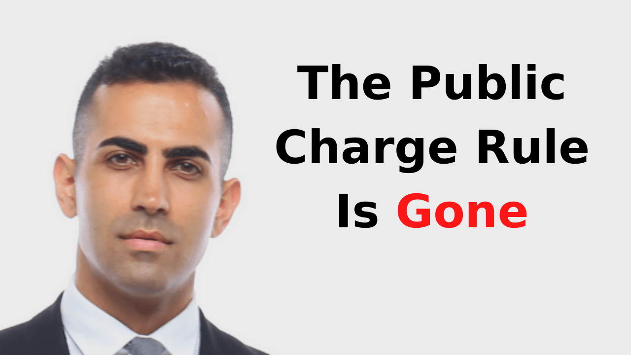 The Public Charge Rule Is Gone