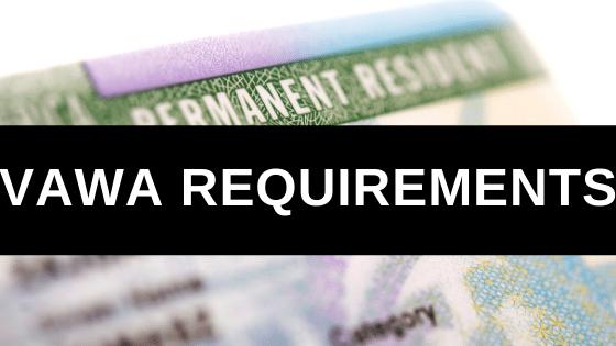 VAWA Requirements
